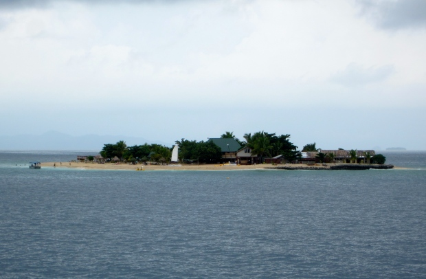 One of Fiji's many islands...not very big, but sure seems nice.